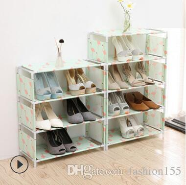 2018 3 Layer Home Multi Function Plastic Assembly Shoe Rack Living Room  Shoe Storage Rack Creative Shoe Rack From Fashion155, $4.33 | Dhgate.Com