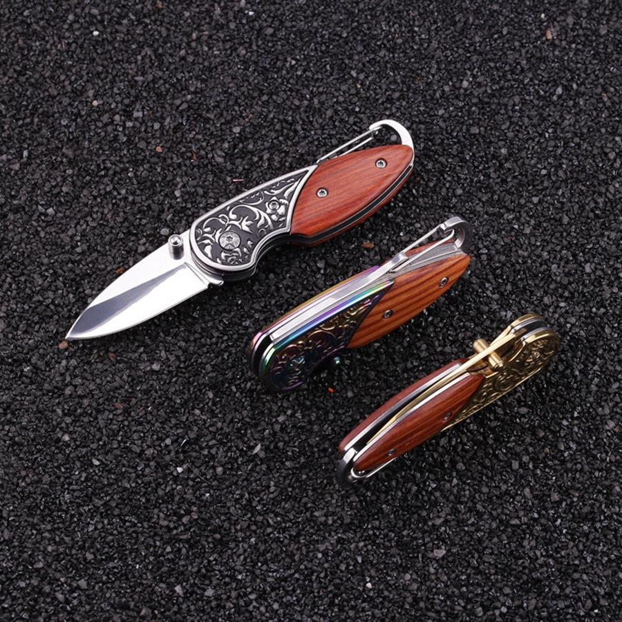 Cuchillo de bolsillo plegable multifuncional de acero inoxidable multiusos acampar al aire libre herramientas de supervivencia EDC envío gratis