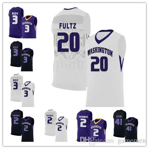 2019 Mens Washington Huskies College Basketball Custom Markelle Fultz White  Black Purple Stitched Personalized Any Name Any Number Jerseys S 3XL From  ... d6ba47a1e