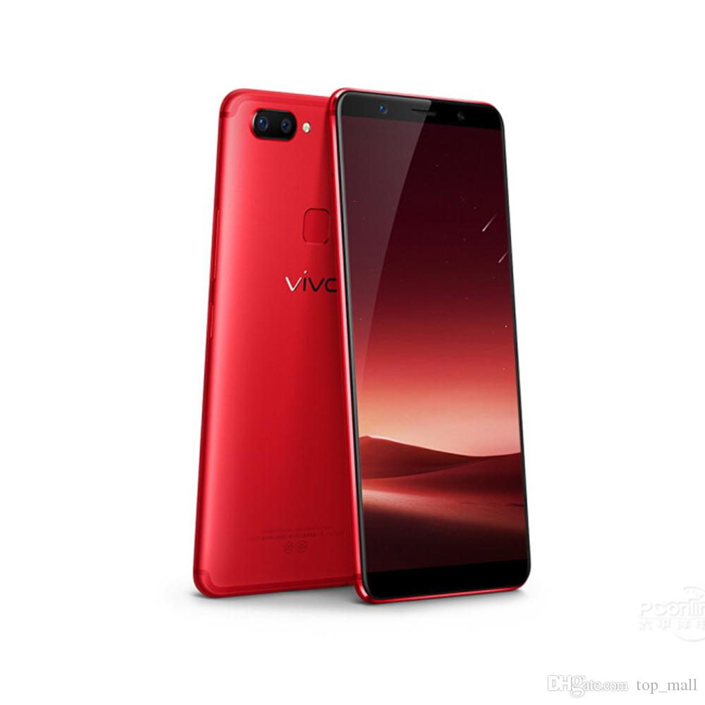 5d021c22f 2019 Original Vivo X21 4G LTE 6.28 6GB RAM 128GB ROM Dual Rear Camera  Android 8.1 Face Wake Fingerprint Free DHL From Top mall