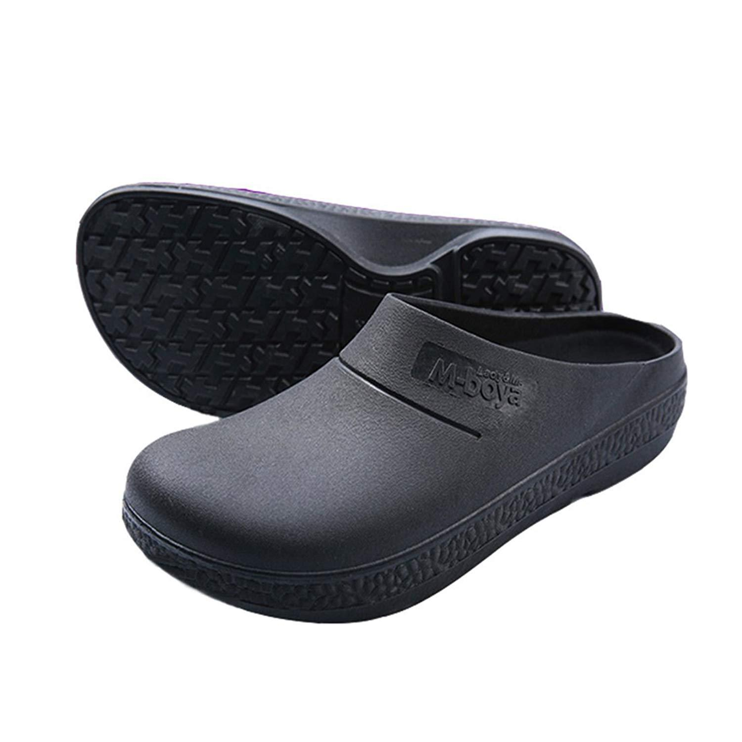 Slip Resistant Chef Clog Mule Restaurant Non Slip Work Shoes Black For Men  Women Canada 2019 From Henty 8aed7c5db4