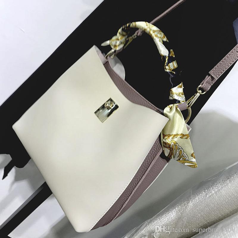 Pu leder frauen handtasche sommer eimer mode frauen tasche damen einkaufstasche neue umhängetaschen mädchen umhängetaschen