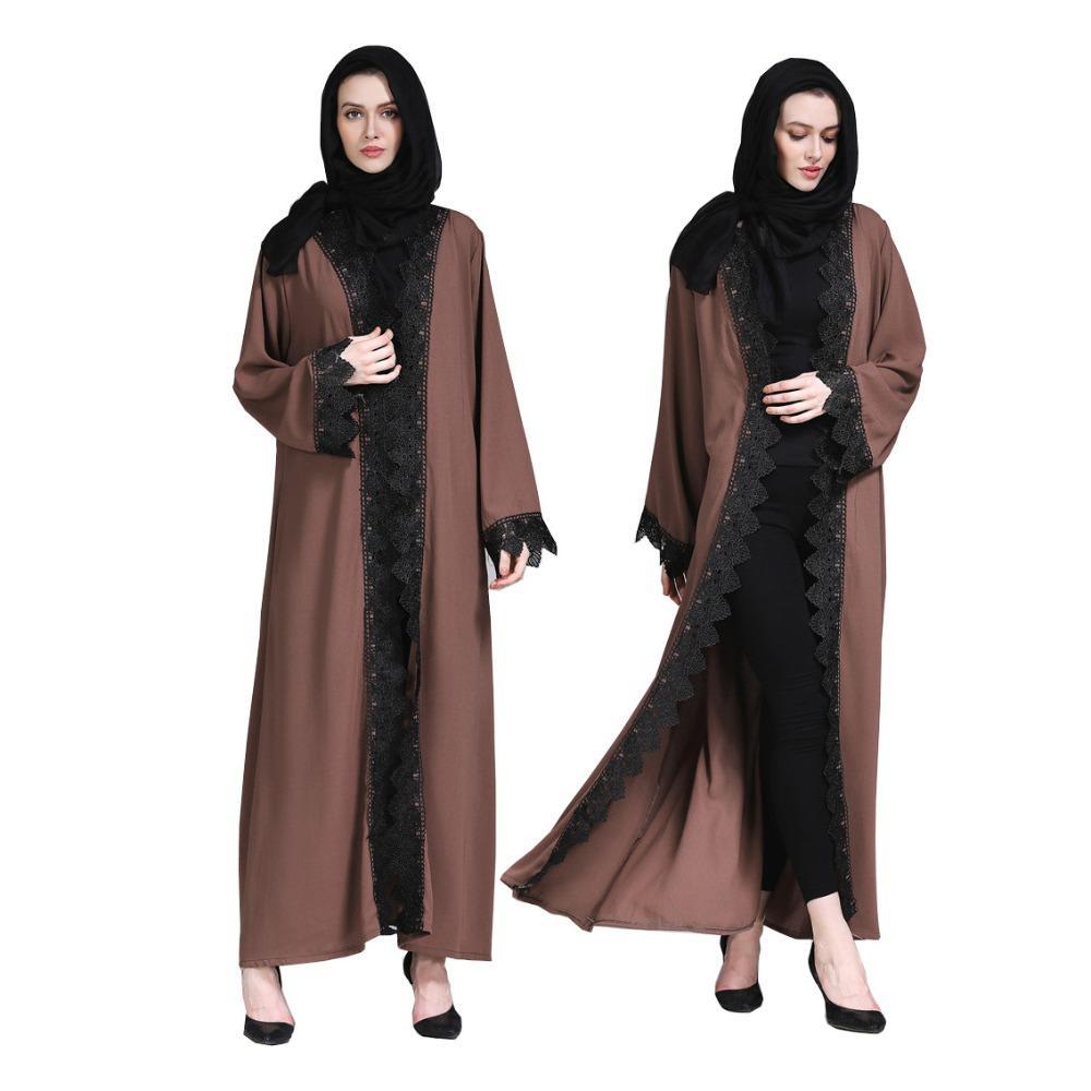 6a7b3d04cfbc 2019 Adult Muslim Abaya Islamic Clothes For Women Dubai Arab Islamic ...