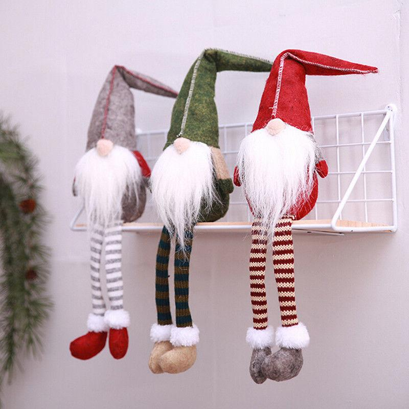 Wierd Christmas Ornament.50cm Christmas Faceless Dolls White Beard Elf Dollsxmas Window Furnishing Article Decor Ornament Pendant Kids Cartoon Toy Gift Ffa1052