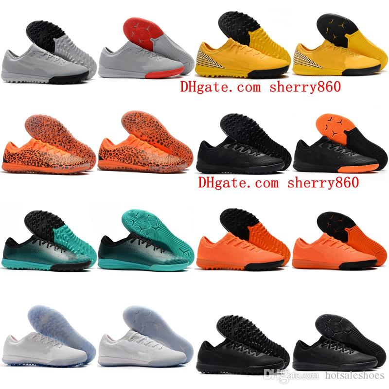e6985a2d3 2019 2018 New Arrival Mens Soccer Shoes Mercurial VaporX VII Pro TF IC Cr7  Football Boots Indoor Soccer Cleats Mercurial Superfly 360 .