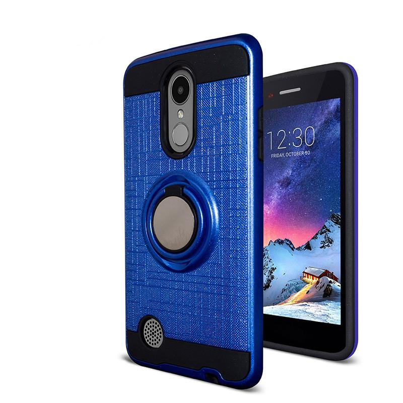 more photos 93f5a 23c92 Shockproof Case Armor Case For LG K3 2017 Fiesta 2 LS7 4G LTE Fiesta LTE X  Power 2 Hybrid Dual Layer With Ring Kickstand Magnetic Case