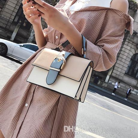 2018 New Fashion Flap Korean Style Women s Handbag for Winter Small ... 9d7e74d4035da