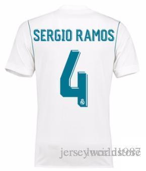 07e7a6726c8 2019 1718 TOP Thai Quality Real Madrid Sergio Ramos Customized Soccer  Jerseys Discount Cheap Football Jerseys BENZEMA RONALDO Football Shirts  From ...