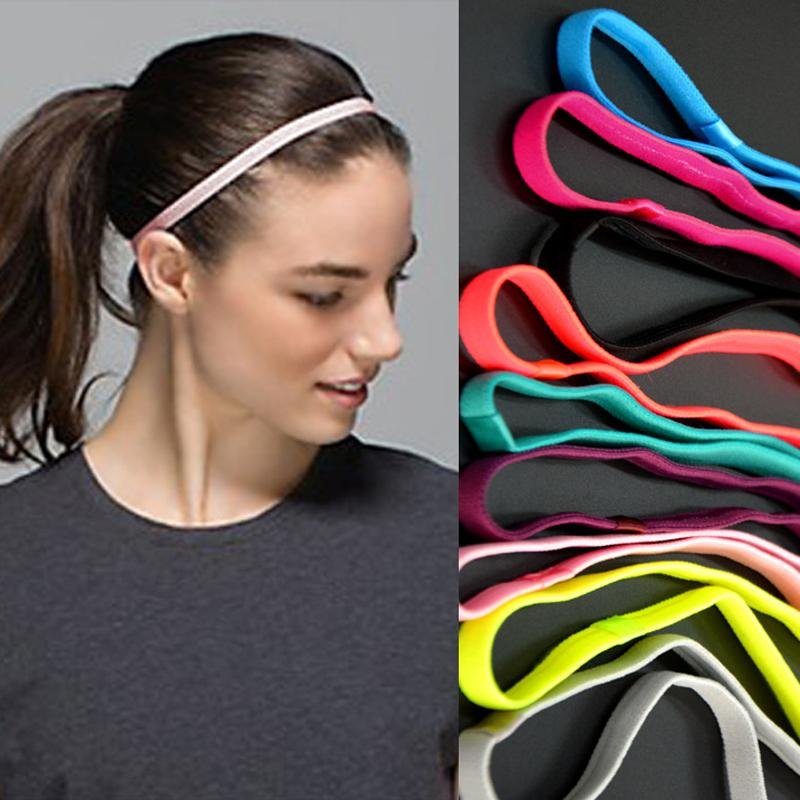 Women Men Yoga Hair Bands Sports Headband Anti Slip Elastic Rubber Hairband Head  Hair Bands Accessories UK 2019 From Cookki f47d31500f3