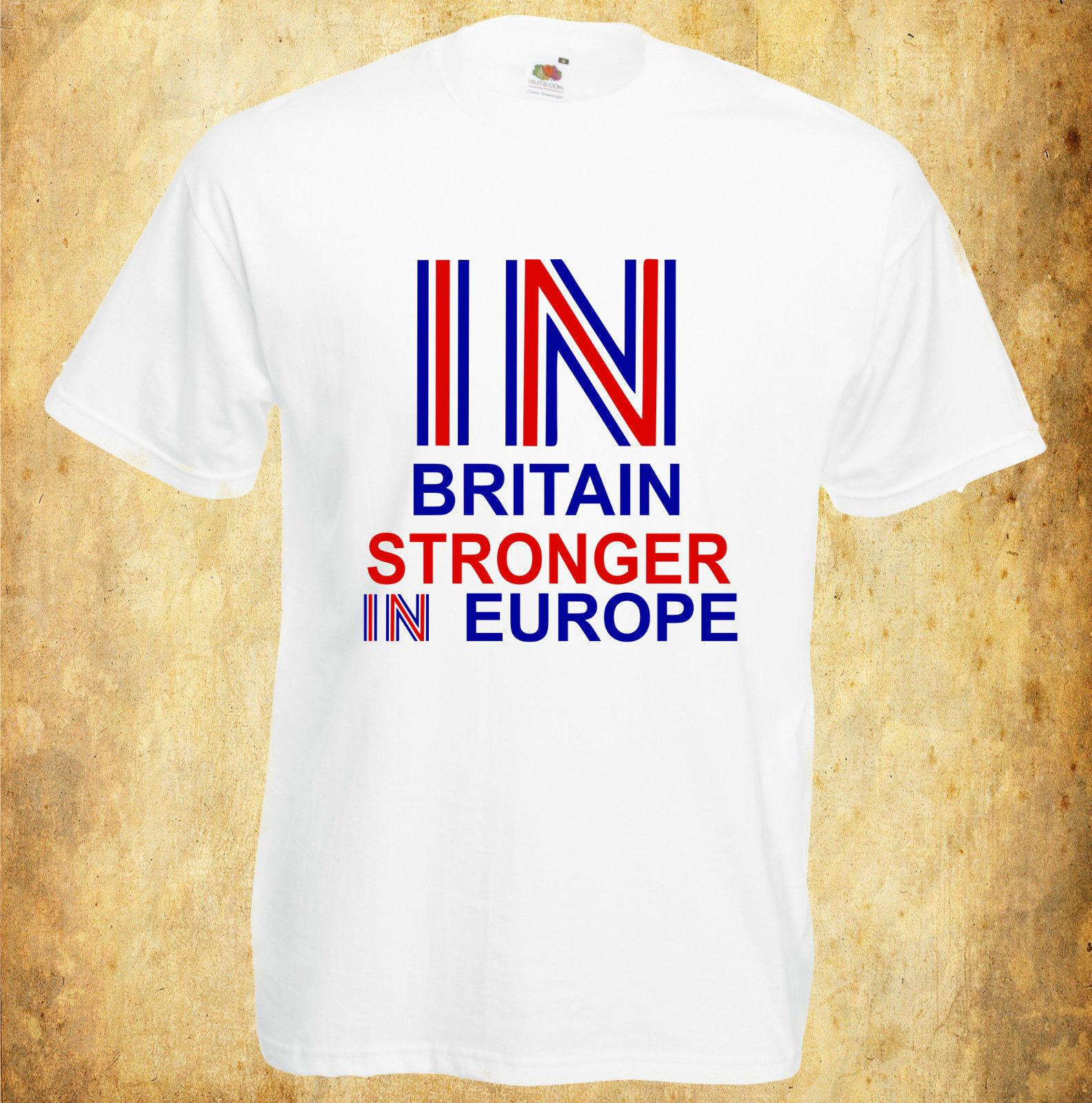 b3c0e1d7 BRITAIN STRONGER IN EUROPE EU REFERENDUM YES CAMPAIGN T SHIRT Online Funky T  Shirts Buy T Shirt Design From Young_ten, $12.96  DHgate.Com