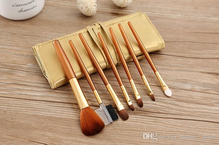 Factory Price DHL Free! =Makeup Brushes Kits Eyelash Blush Eye-shadow Brush Sponge Sumudger Make Up Tools with Bag