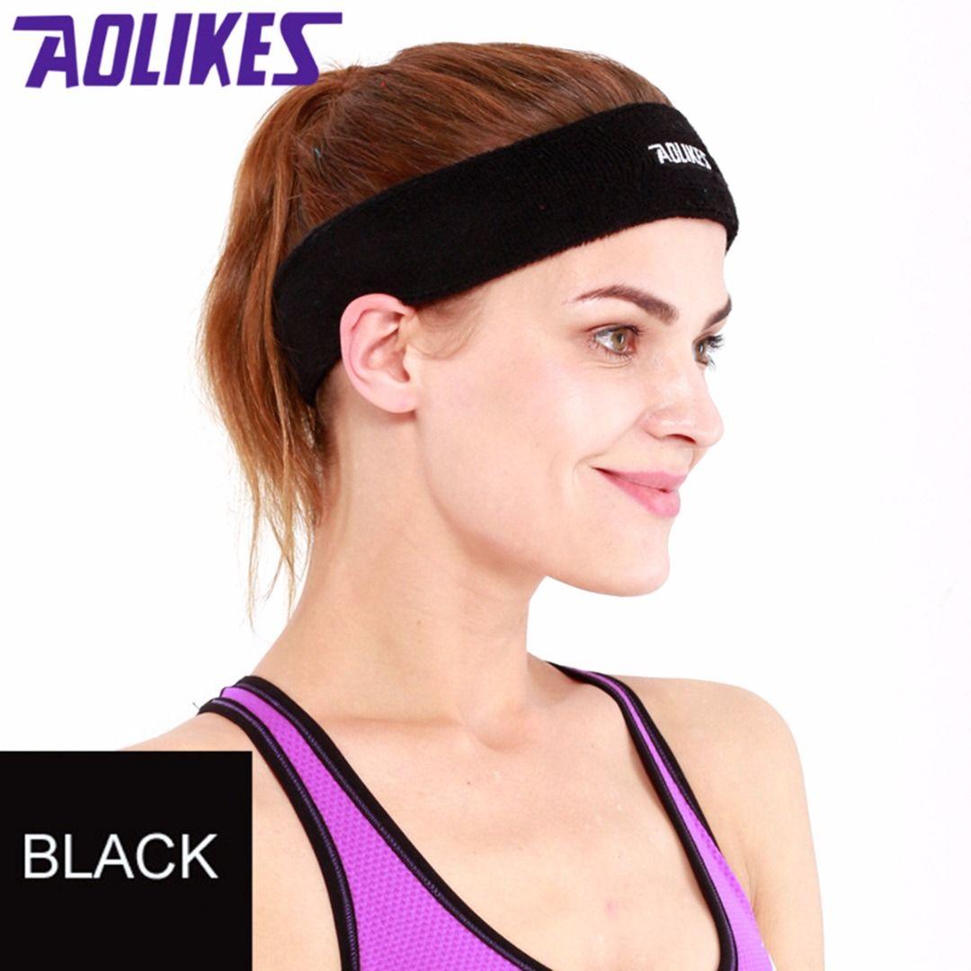 2019 Multicolor Sports Sweat Headband Yoga Stretch Elastic Sweat Headwear Women  Absorbing Yoga Headband Outdoor Sweatband From Yiquanwater 6d7083a01d
