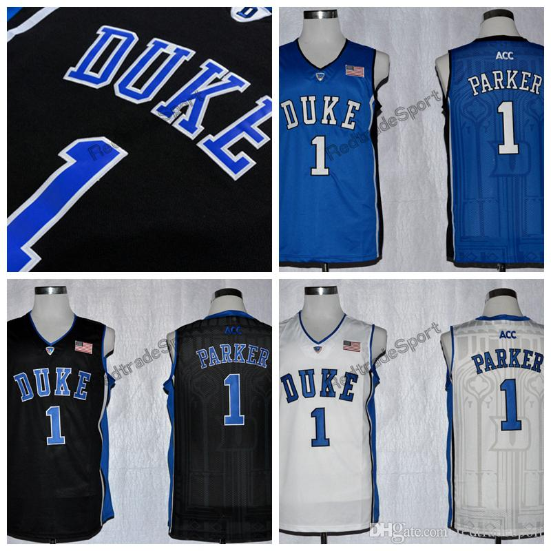 f9cd62ad9a96 ... promo code for 2018 mens duke blue devils jabari parker college  basketball jersey cheap blue black