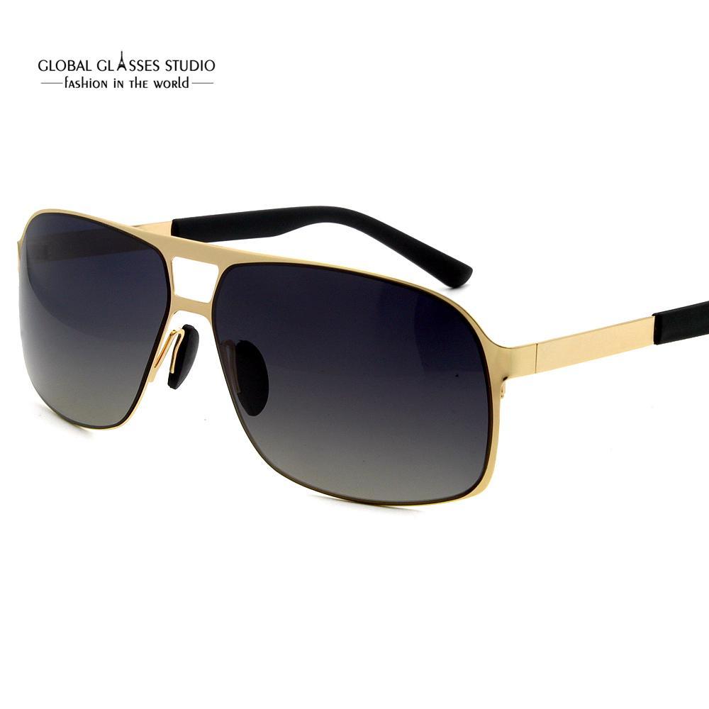 308c500055 Men s Light Driving Sunglasses Italy Design Metal Sunglasses Gradient  Mirror Polarized CR39 Lens Eyewear RST043 Cat Eye Sunglasses Round  Sunglasses From ...