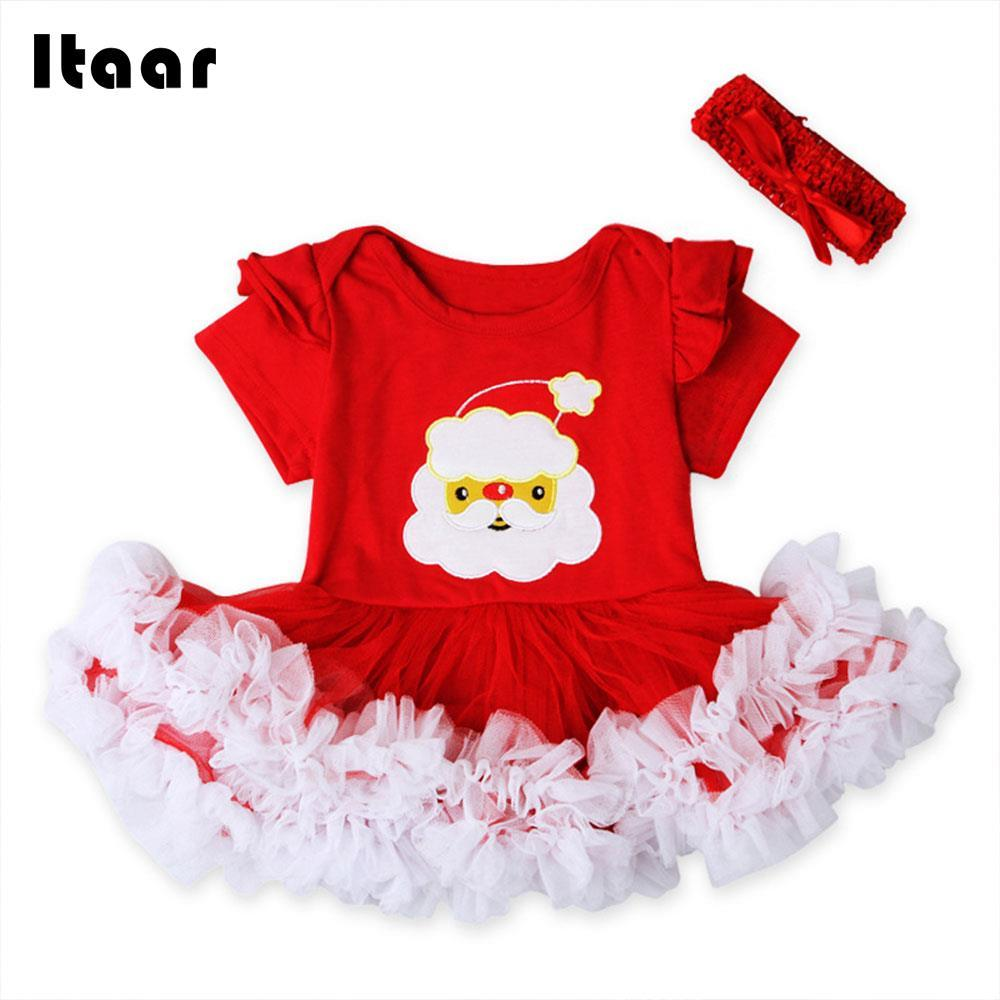 7eb4978d71d5 2019 2018 Girls Dress Summer Dress Sets Tutu Outfits Party Supplies Xmas  Presents Cute Festival Breathable Santa Claus Red From Jasmineer, $30.16 |  DHgate.