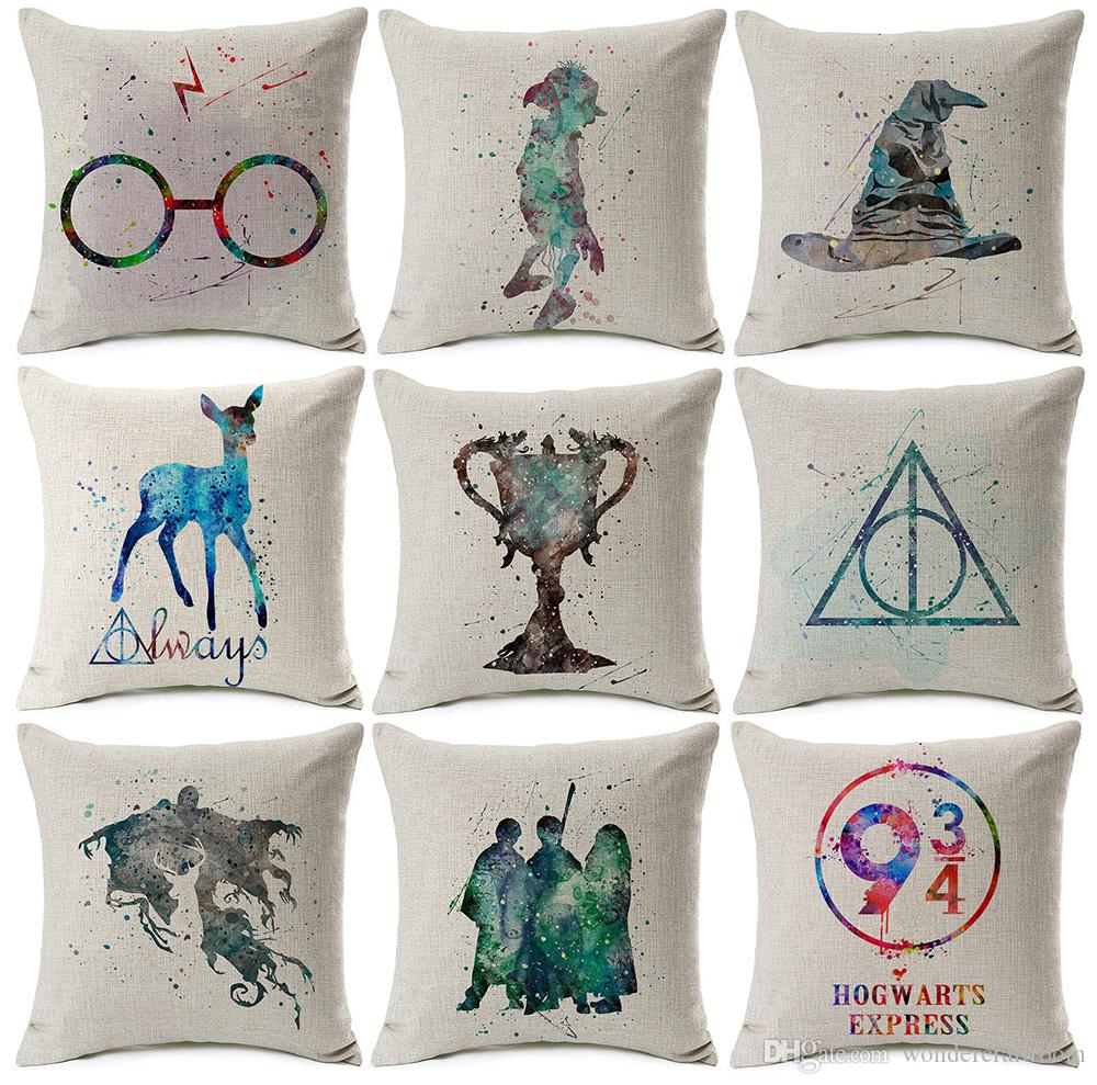 ... Fire Art Cushion Covers Sofa Decorative Linen Cotton Pillow Case Patio  Replacement Cushions Discount Patio Cushions From Wondercraftroom, $7.24|  Dhgate.
