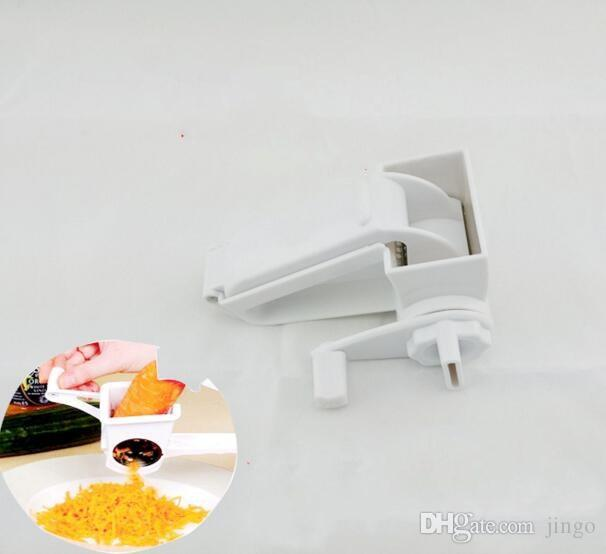 DHL Rotary Cheese Grater Chocolate Nuts Shredder Sharp Stainless Steel Drums Razor Kitchen Accessories Slicer Handheld Slicer Cheese Cutter