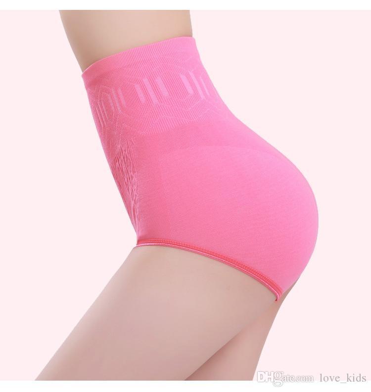 أزياء مثير للمرأة عالية الخصر البطن تحكم الجسم المشكل ملخصات التخسيس السراويل الخصر المدرب cincher الخصر
