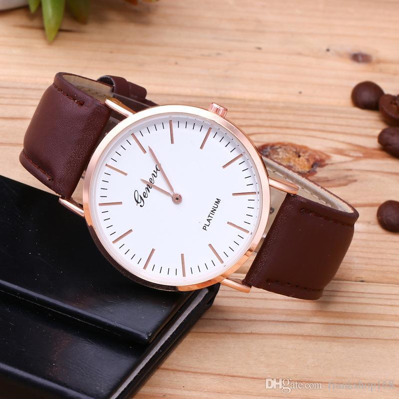Nueva pareja reloj hombre y mujer amante reloj cuarzo writwatch hotsale reloj