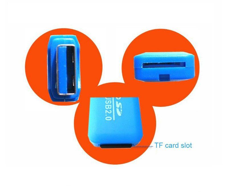 HOT Epacket High Speed USB 2.0 Micro SD card T-Flash TF M2 Memory Card Reader adapter 2gb 4gb 8gb 16gb 32gb 64gb TF Card
