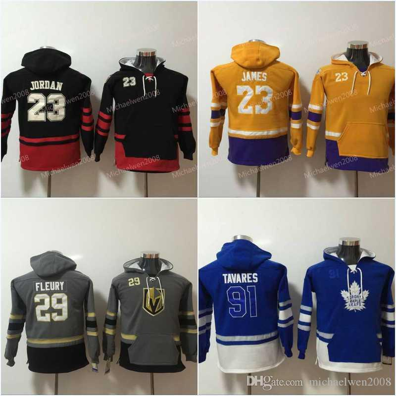 2019 Youth Kids 23 Jd Hoodie 91 JohnTavares 88 Brent Burns 97 ConnorMcDavid  19 Jonathan Toews Hockey Jersey Hoodies Sweatshirts From Michaelwen2008 261e93208