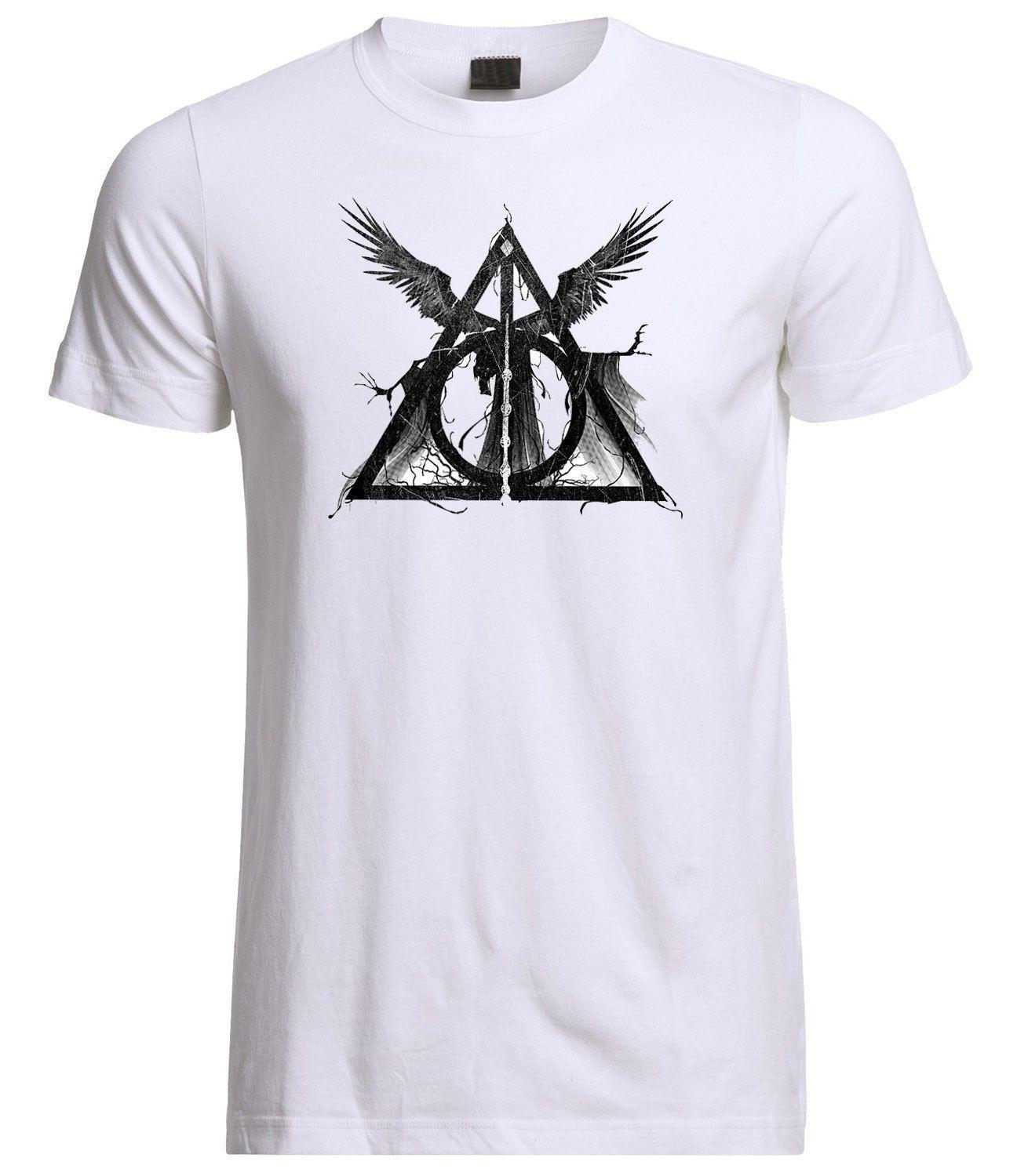 c4433f225 Deathly Hallows Harry Potter Inspired Three Brothers T Shirt Shirts For Men  Shirt Design From Valuebuy, $11.01| DHgate.Com