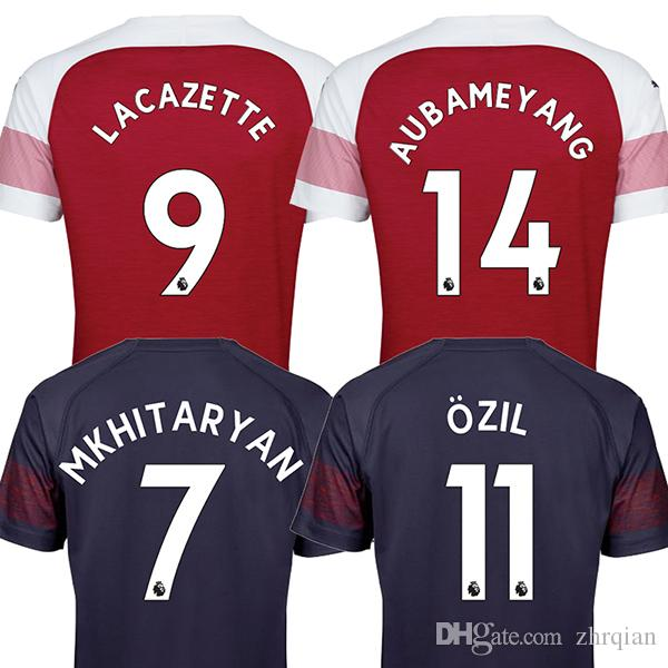 18 19 Arsenal Camiseta Top Tailandia Calidad LACAZETTE MKHITARYAN 2018 2019  Camiseta De Fútbol Casa Camiseta De Fútbol Rojo 18 19 Camiseta De Futbol ... 01511b63cb630