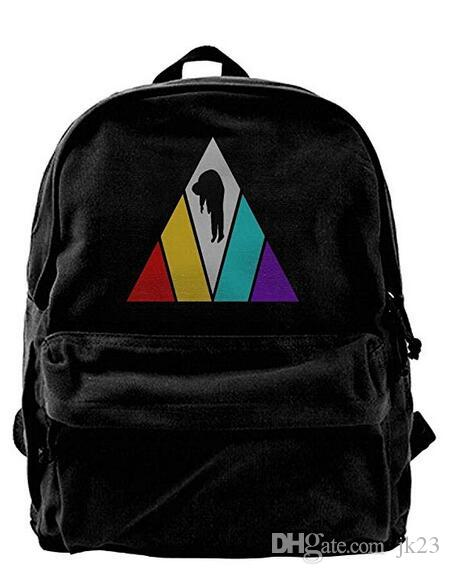 076c8fa1a6 Imagine Dragons Canvas Shoulder Backpack Awesome Backpack For Men   Women  Teens College Travel Daypack Black Backpacks Bags From Jk23