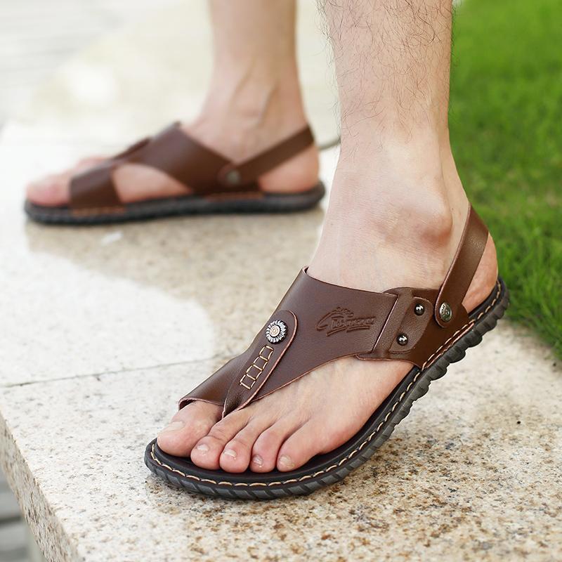 da386d188a Compre Hombres Casual Sandalia Clásica Milano Zurich Boston Birkene  Zapatillas Flip Flop Verano Zapatos Para Caminar Roma Gran Tamaño Grande 43  44 Stock A ...