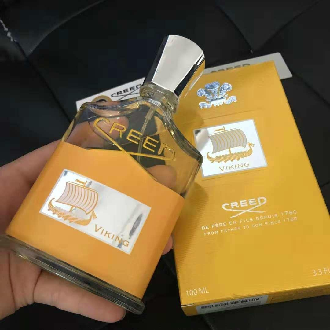 Creed Virgin Golden Yellow Men's Fragrance Perfume 100ml Men Gold Bottle With Long Lasting High Fragrance Good Quality parfum christmas gift
