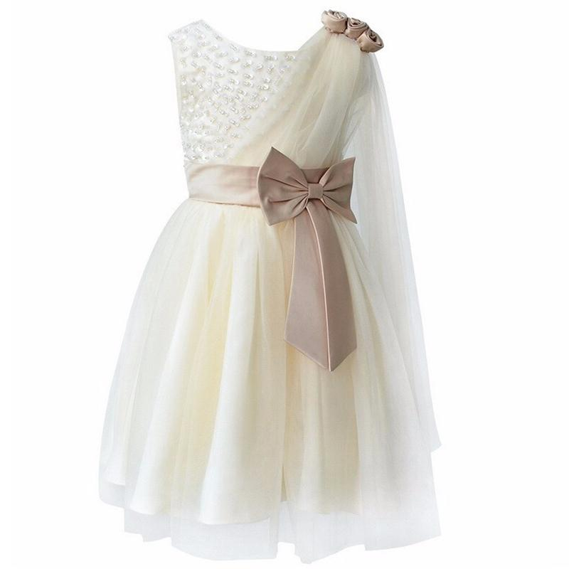 Girls Dresses Clothes Summer 2016 Kids Party Dress Designer Children Teenagers Prom Ceremonies Gowns Dresses Princess Dress