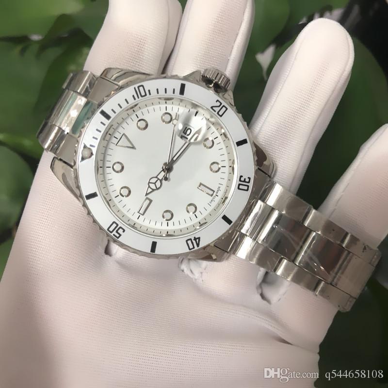 1eb8d89ba Compre 2018 AAA Calidad Día Blanco Reloj De Diseñador Mujeres De Alta  Calidad Nueva Moda De Lujo Nueva Mujer Reloj De Cuarzo De Acero Inoxidable  Mejor ...