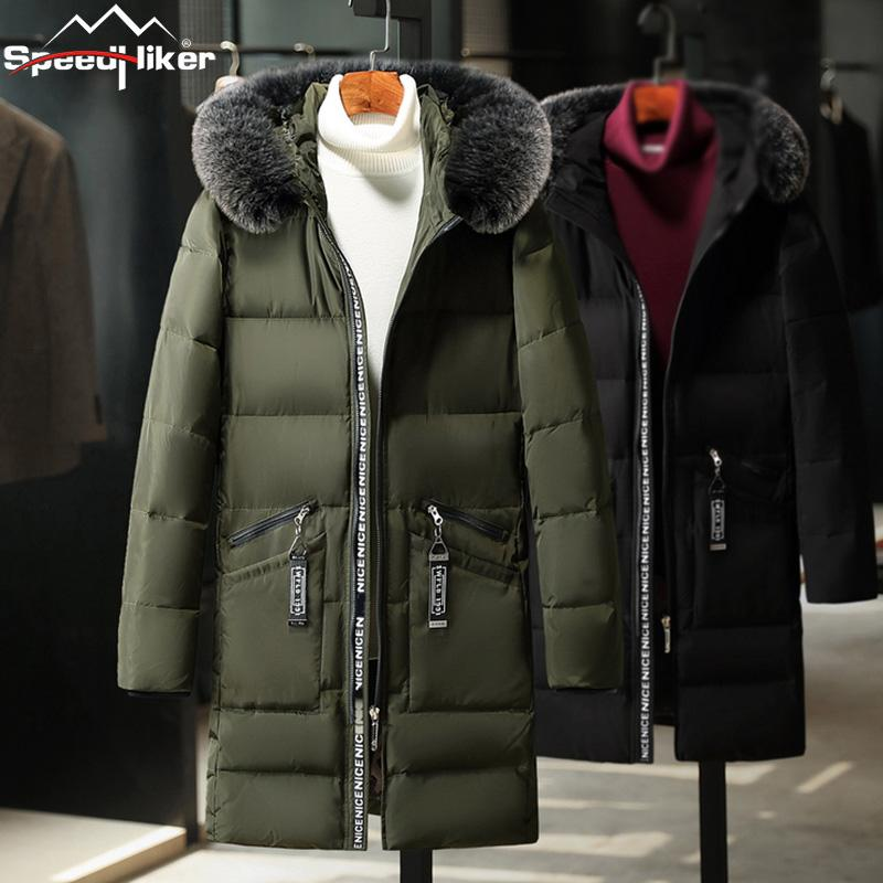 2016 Plus Size 4 Colors 1.4kg Waterproof Winter Jacket Men Warm 2 In 1 Parkas Windproof Detachable Hood Winter Coat Size M-5xl Jackets Men's Clothing
