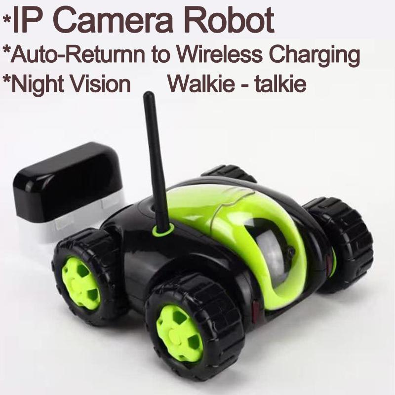 New Rc Car With Camera 4ch Wifi Tank Cloud Rover Portable Ip Camera