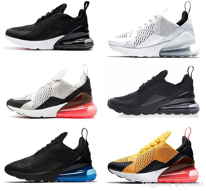 ed546a8659e587 Cheap New Arrivals 2018 French Champion 270 Men Shoes Maxes Black White  Cushion Triple Mens Sneakers Fashion Air Athletics Trainers Running Shoes