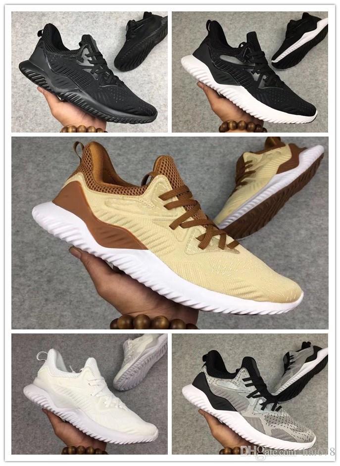 newest 836e5 d82de Compre 2018 AlphaBounce Beyond High Marmos Suela De Agallas Tiburón  Zapatillas Running Negro Gris Blanco Alpha Khaki Bounce Footing Shoes A   55.84 Del ...