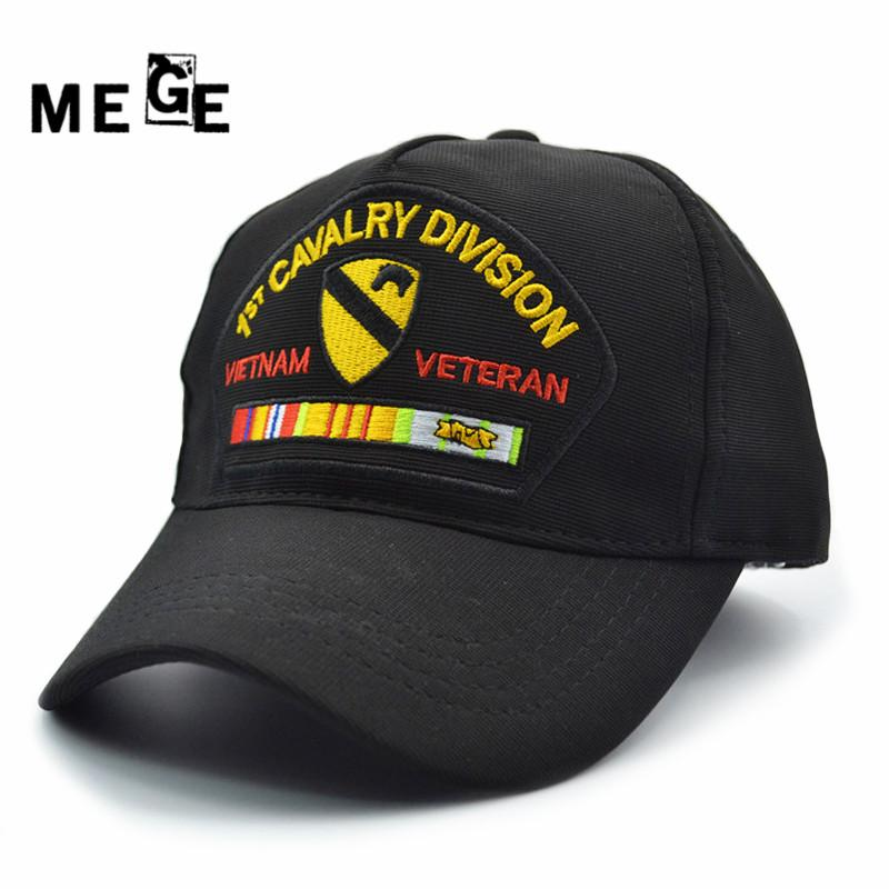 5cb992a546b 2019 Mege 1st Cavalry Division Army Cap For Fishing