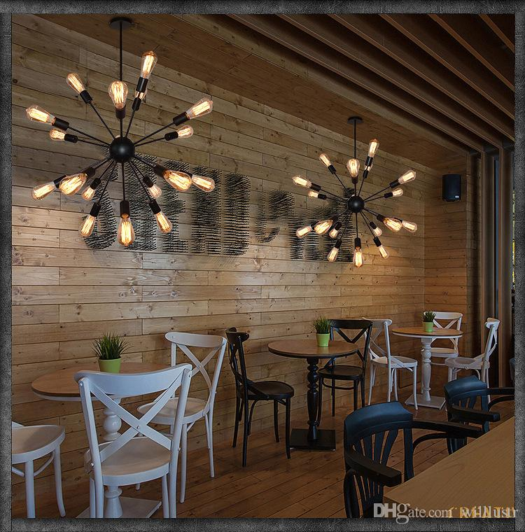 Vintage ferro sputnik lampada a sospensione moderna pendente lampada a sospensione atomica starburst lampadario a sospensione lampada a sospensione casa ristorante hotel sala da pranzo