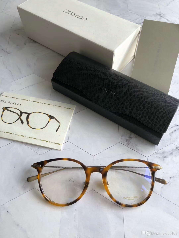 Compre Oliver Peoples Tortoise Óculos De Armação De Óculos Lentes Claras  OV5306D 51 MM Designer Óculos De Sol Nova Marca Com Caixa De Baiyu168, ... 1d0261f663