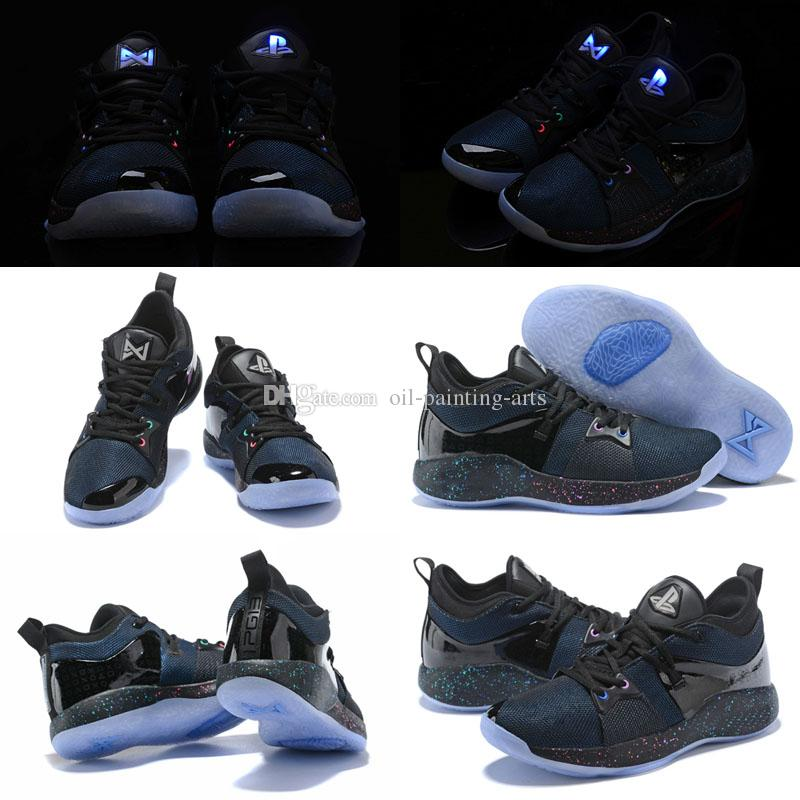 378a008bf84f 2018 New Lights UP PG 2 PlayStation Taurus Road Master Casual Shoes For Paul  George II PG2 2s PS Casual Shoes Size 40 46 Shoe Sale Shoes Uk From Oil ...