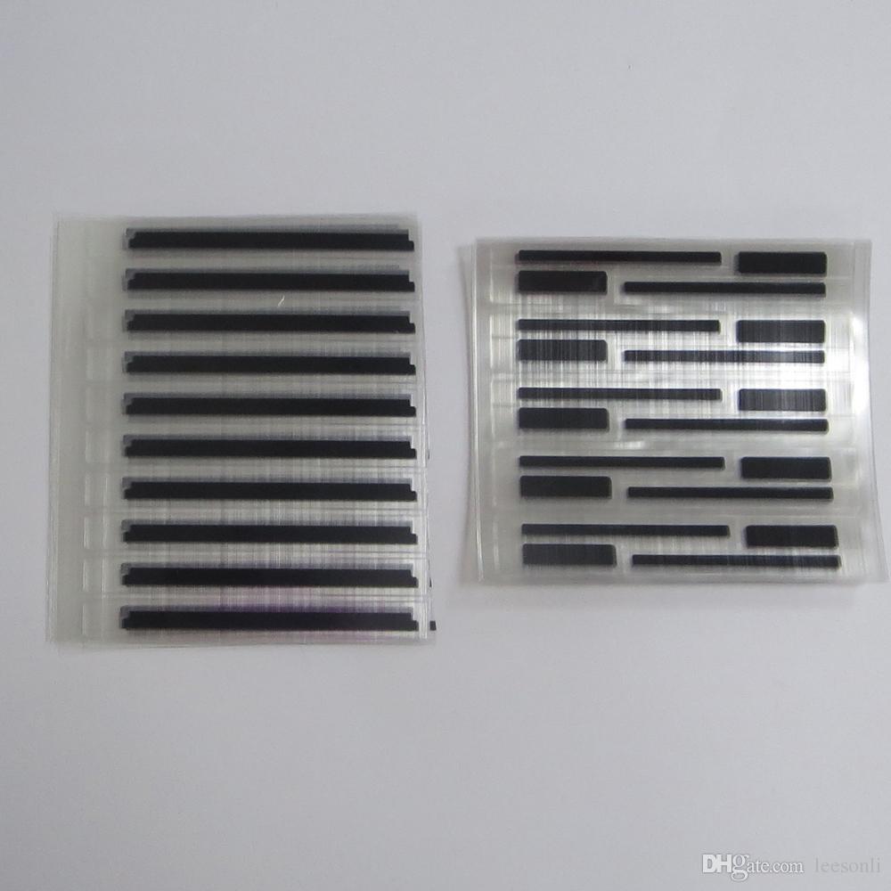 Etiqueta leve do selo para o reparo original da tela do LCD do iPhone 6G, luz do bloco de brilhar fora do quadro do telefone para a substituição do reparo do reparo de IPhone