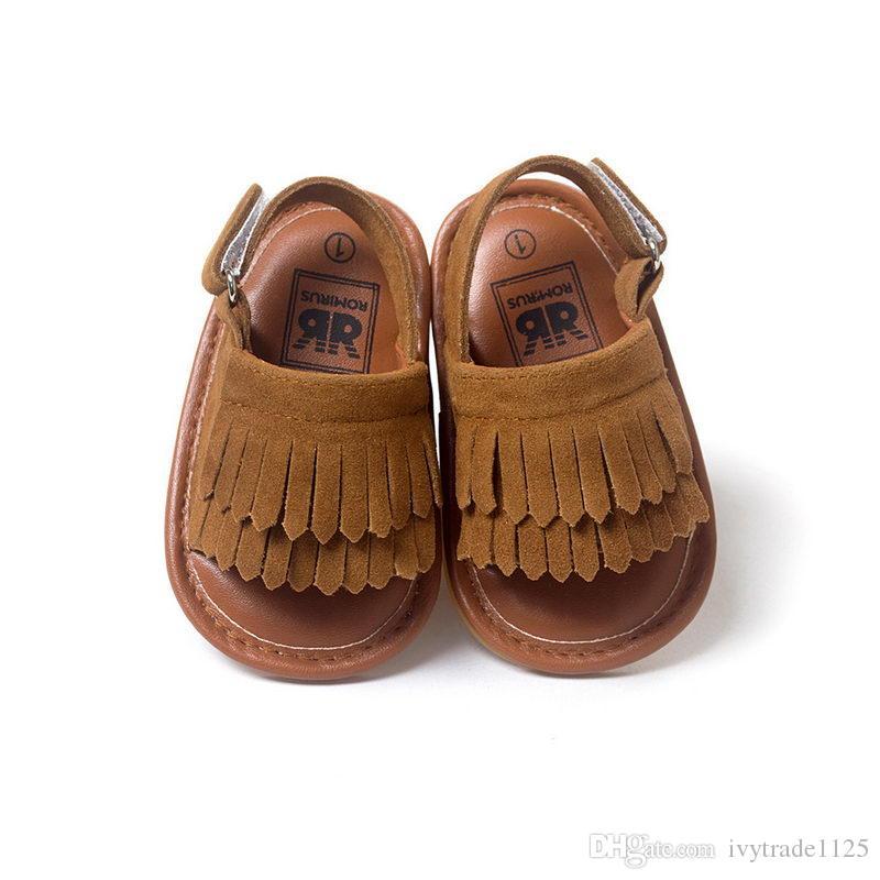 scarpe da bambino ragazza primi camminatori scarpe infantili bambino boutique scarpe anti-slittamento scarpe sandalo