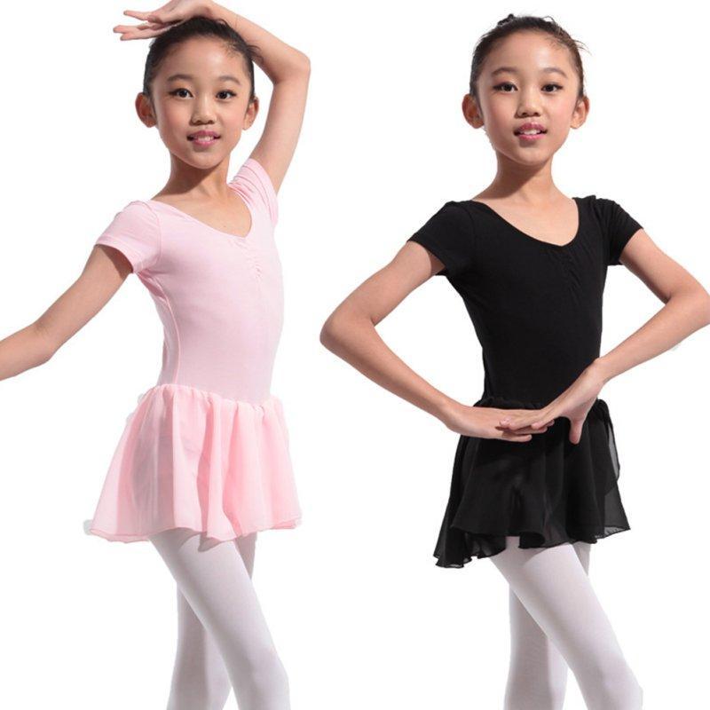 12d9097cc1 Compre Ginástica Collant Para Meninas Ballet Dress Crianças Collant Tutu  Trajes De Desgaste De Dança Ballet Leotards Para A Menina Roupas De  Bailarina De ...