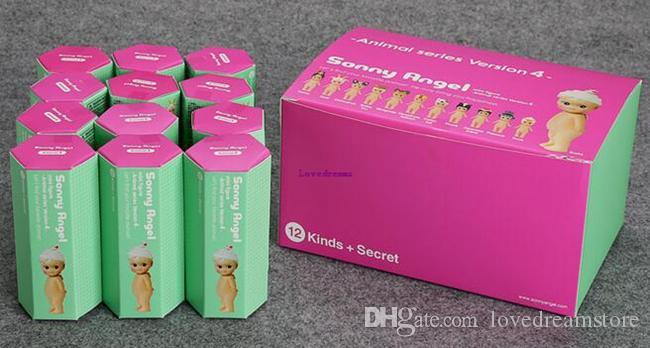 Nouvelle Vente Boîte / 12 Style Conception Sonny Angel Mini figure kawaii jouet poupée collection série animal Version Pour Enfants Cadeaux Téléphone Accessoires