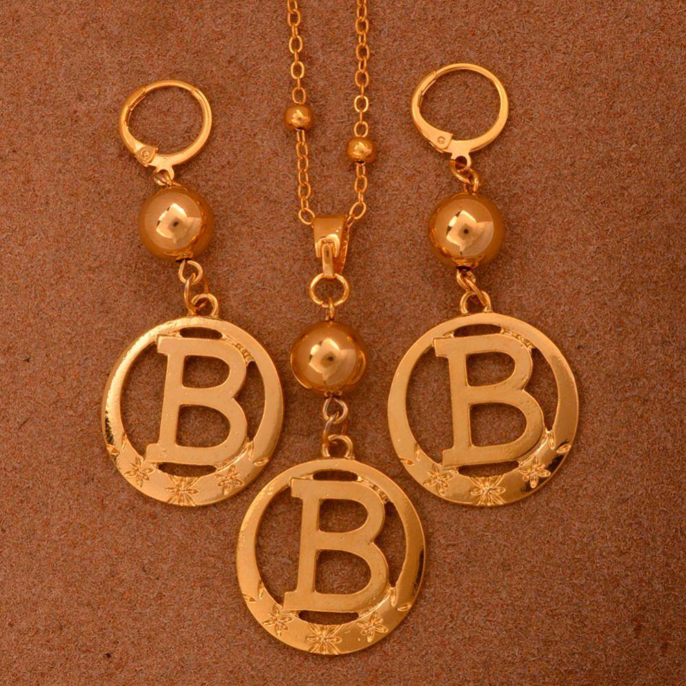 6d3f6c802af0 Compre Anniyo A To Z Perlas De Color Oro Alfabeto Collares Inicial Para  Mujeres Niñas Ronda Carta Inglés Regalos De Joyería   105206 A  21.4 Del  Kebe1 ...