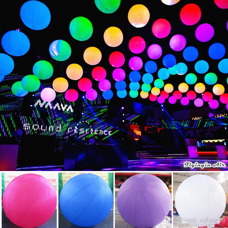 Party Decorations Customized Large Ball Wholesale 2m Diameter Led Inflatable Lighting Balloon With Blower For Advertising Display Party Decorations ... & Party Decorations Customized Large Ball Wholesale 2m Diameter Led ...