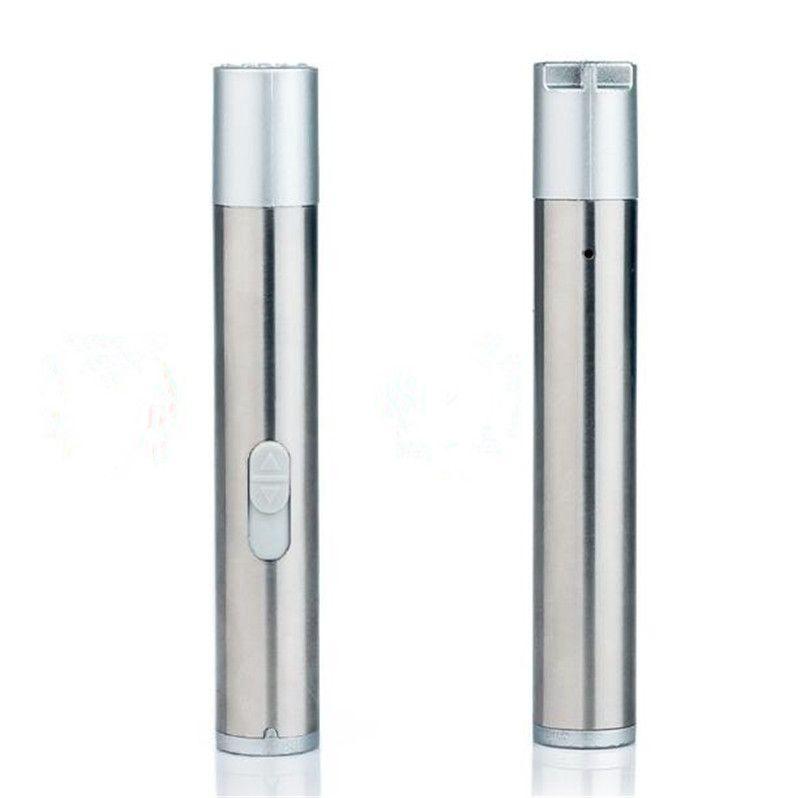 3 in 1 Laser 395nm UV LED Flashlight Rechargeable USB Torch Light Mini Pocket Medical Warm White Flashlight