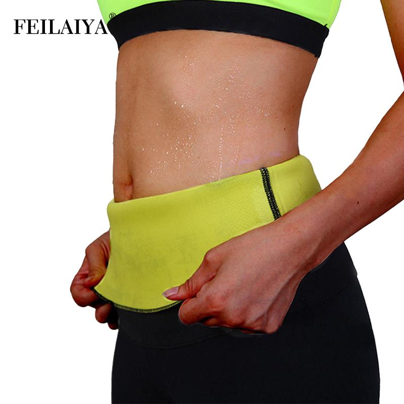 0aea43b0eb 2019 Women Plus Size Neoprene Waist Trainer Tummy Slimming Belt Sheath Body  Shaper Modeling Strap Weight Loss Corset Sweat Shapewear From Derricky