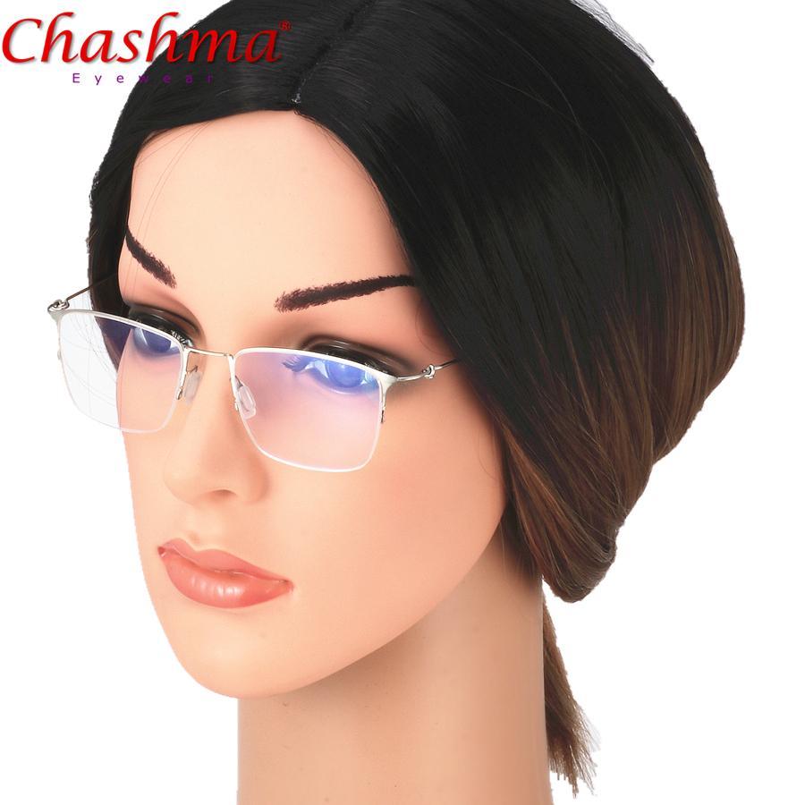 186922e9471 2019 Chashma Titanium Glasses Frame Men Prescription Eyeglasses ...
