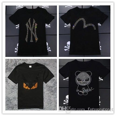 Compre 2018 Mais Nova Moda Masculina Que Rompe Mal Heisenberg Caveira T  Shirt Harajuku Camiseta Engraçada Hipster O Neck Cool Tops Skull Panda T  Shirt De ... 1c464b4612adc